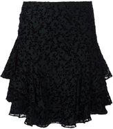 Yigal Azrouel 'Flower Garden' pleated skirt