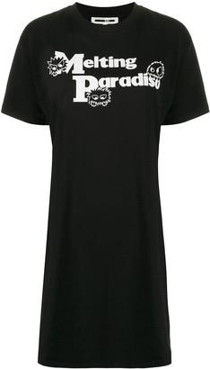 McQ Melting Paradise T-shirt dress