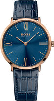 HUGO BOSS 1513371 Jackson rose gold-plated stainless steel watch