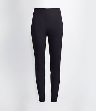 LOFT Tall Curvy High Waist Side Zip Skinny Leggings