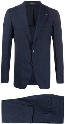 Tagliatore Slim-Fit Checked Suit