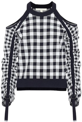 Jonathan Simkhai Gingham sweater