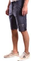 Napapijri Men's Blue Cotton Shorts.