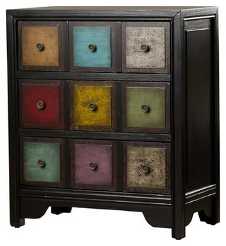 Bungalow Rose Laumer 3 Drawer Apothecary Accent Chest