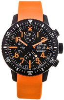 Fortis Limited Edition B-42 Black Mars 500 Automatic Chrono Mens Watch Calendar 638.28.13.SI.19