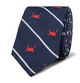 Thom Browne 6cm Crab-Patterned Silk-Jacquard Tie