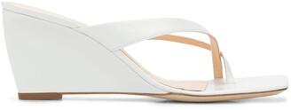 BY FAR Wedge Heel Sandals