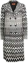 Missoni Zigzag Double-Breasted Overcoat