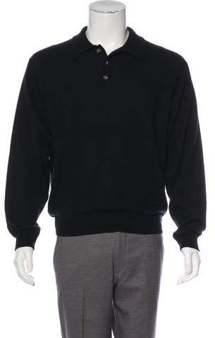 Barneys New York Barney's New York Cashmere Polo Sweater