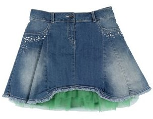 MISS GRANT Denim skirt