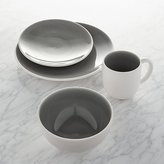 Crate & Barrel Jars Tourron Grey 4-Piece Place Setting