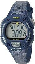 Timex Women's Ironman 30-Lap Digital Quartz Mid-Size Watch - White