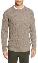 Bonobos Men's Cable Knit Crewneck Sweater