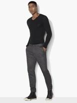 John Varvatos Birdseye Jacquard Knit Pants