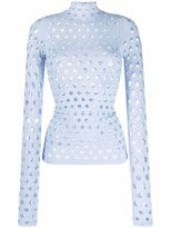 Thumbnail for your product : MAISIE WILEN Cut Out-Detail High Neck Top