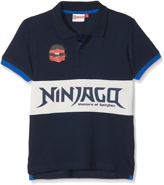 Lego Wear Boy's Lego Ninjago Thomas 308-POLO T-Shirt
