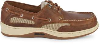 Sebago Docksides Clovehitch II Waxed Leather & Mesh Boat Shoes
