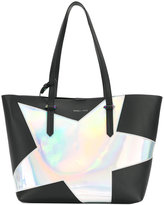 KENDALL + KYLIE Kendall+Kylie holographic star tote