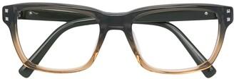 Valentino Pre-Owned 1990's Square Glasses