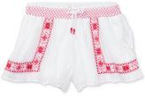 Ralph Lauren Floral-Embroidered Shorts, Toddler & Little Girls (2T-6X)