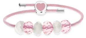 Rhona Sutton 4 Kids Children's Premade Heart Clasp Charm Bracelet in Sterling Silver