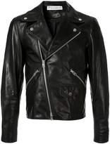 JW Anderson men's Gilbert & George leather biker jacket