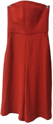 Topshop Tophop Red Jumpsuit for Women