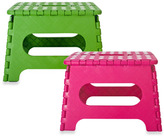 Kikkerland Easy Fold Step Stool