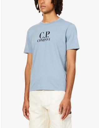 C.P. Company Logo-print cotton-jersey T-shirt