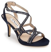 Nina Women's Varsha Crystal Embellished Evening Sandal