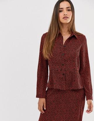 AX Paris button through shirt coord