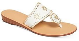 Jack Rogers Women's Jacks Demi Wedge Thong Sandals
