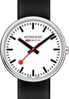 Mondaine A7633036211sbb swiss railways stainless steel watch