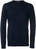 Roberto Collina crew neck top - men - Merino - 48