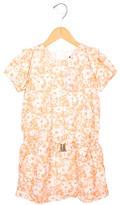 Chloé Girls' Printed Short Sleeve Dress w/ Tags