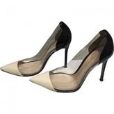 Gianvito Rossi Plexi Black Patent leather Heels