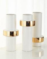 Global Views Mid Golden Ring Vase