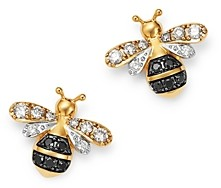 Bloomingdale's Diamond Bumble Bee Earrings in 14K Yellow Gold, 0.32 ct. t.w. - 100% Exclusive