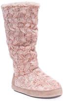 Muk Luks Women's Men'sah Boot Slipper