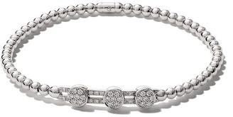 As 29 18kt white gold ALF 3-round extendable diamond bracelet