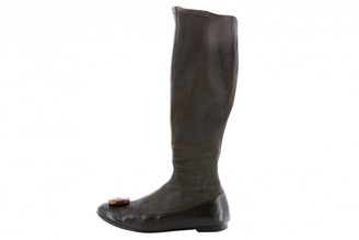 Christian Dior \N Brown Leather Boots