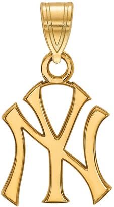 New York Yankees LogoArt 14K Gold Pendant
