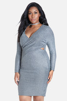 Fashion to Figure Cassi Shimmer Bodycon Dress