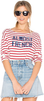 Sundry Almost French Long Sleeve Tee