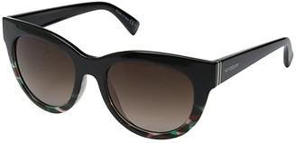 Von Zipper VonZipper Queenie (Muddled Teal/Brown Gradient) Sport Sunglasses