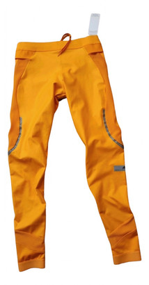Stella Mccartney Pour Adidas Orange Spandex Trousers