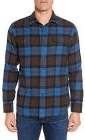 Grayers Men's Ludlow Trim Fit Plaid Flannel Sport Shirt