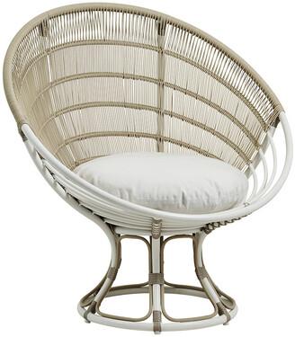 Sika Design Sika-Design - Luna Outdoor Lounge Chair - Dove White B450