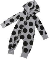 LUNIWEI Newborn Infant Baby Print Long Sleeve Romper Jumpsuit