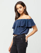 Free People Love Letter Tube Womens Top